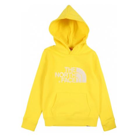 THE NORTH FACE Bluzka sportowa żółty