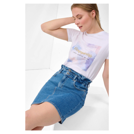 Jeansowa spódnica mini Orsay