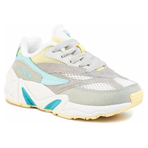 Sneakersy FILA - V94M Cb Jr 1010852.92X White/Limelight