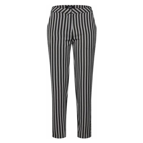 OBJECT Spodnie 'OBJFILINA HW PANT A BSFD' czarny / srebrny