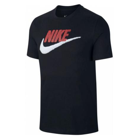 Nike NSW TEE BRAND MARK M czarny S - Koszulka męska