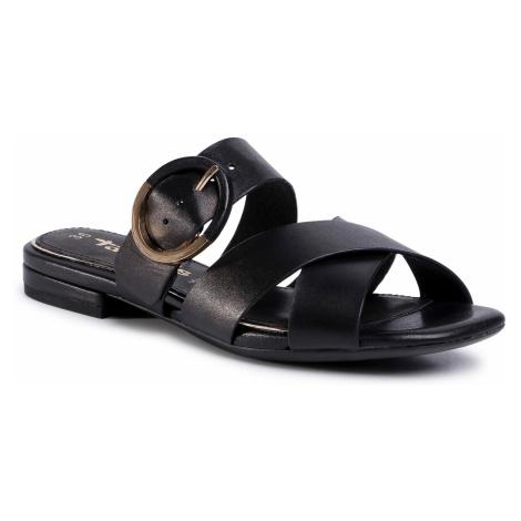 Klapki TAMARIS - 1-27129-34 Black 001