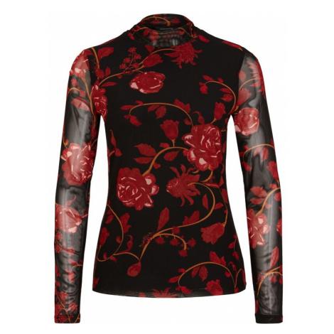 COMMA Koszulka czerwony / czarny