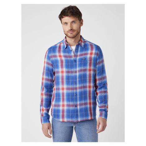 """Wrangler """"Pkt Shirt"""" Limoges Blue"""