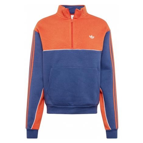 ADIDAS ORIGINALS Bluzka sportowa ciemny niebieski / pomarańczowy