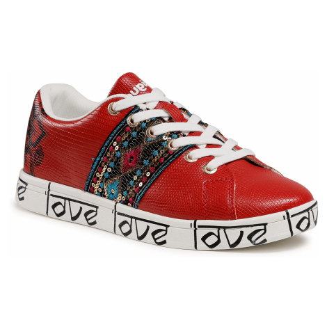 Sneakersy DESIGUAL - Cosmic 21SSKP28 3061