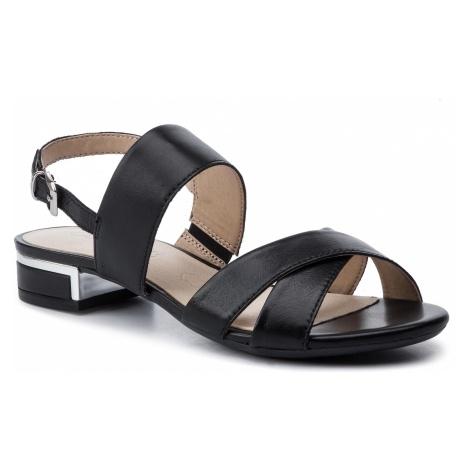 Sandały CAPRICE - 9-28143-22 Black Nappa 022