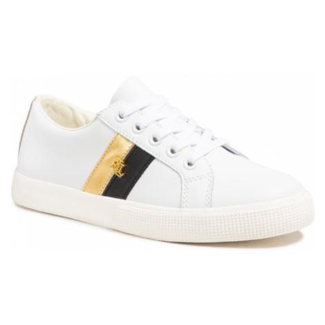 Lauren Ralph Lauren Sneakersy Janson II Sk Vlc 802828027002 Biały