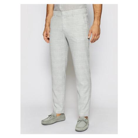Pierre Cardin Spodnie materiałowe 3520/000/4911 Szary Regular Fit