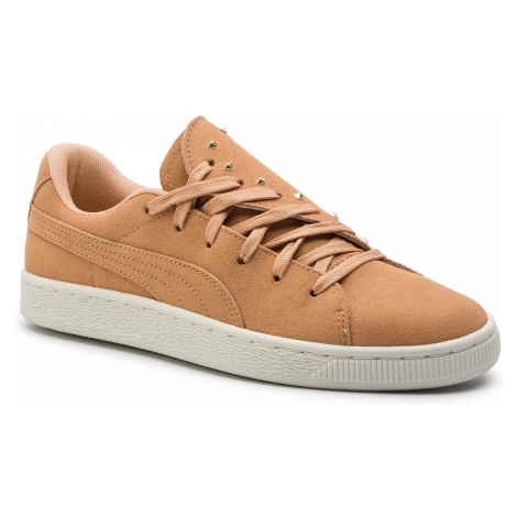 Sneakersy PUMA - Suede Crush Studs Wns 369688 01 Toast/Toast