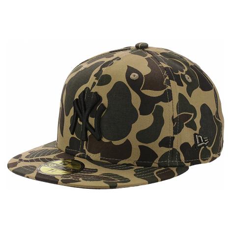 czapka z daszkiem New Era 59F Camo MLB New York Yankees - Dark Stone Camo/Black