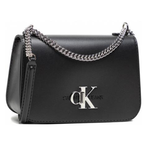 Calvin Klein Jeans Torebka Convertible Full Flap K60K607482 Czarny