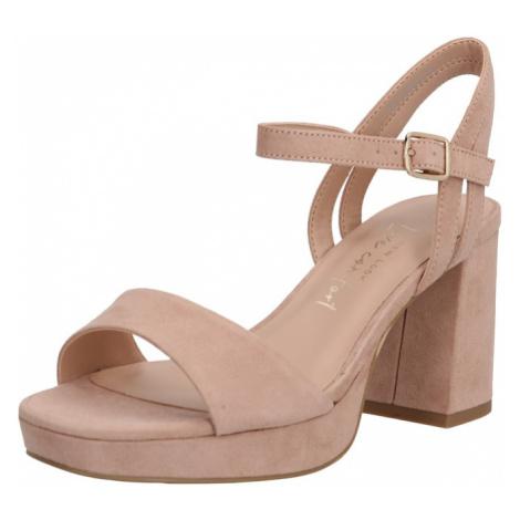NEW LOOK Sandały z rzemykami 'ZEBRA' kremowy