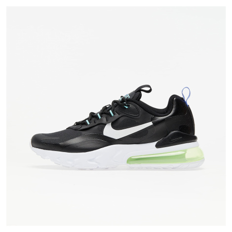 Nike Air Max 270 React GS Black/ White-Laser Orange-Aurora Green