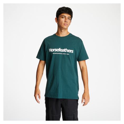 Horsefeathers Quarter Tee Jungle Green