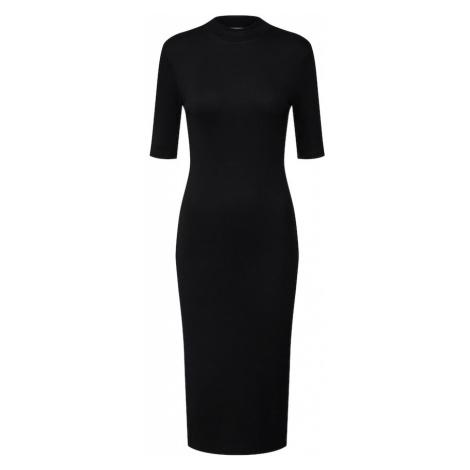 Modström Sukienka z dzianiny 'Krown T-Shirt Dress' czarny