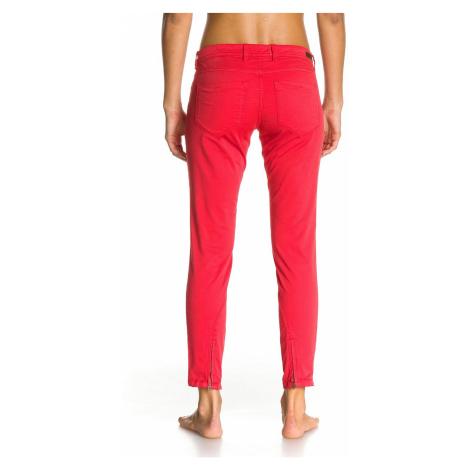 spodnie Roxy Skinny Crop Paisley - RMZ0/Hibiscus