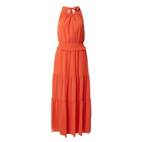 Dorothy Perkins Sukienka 'Shirred' pomarańczowo-czerwony