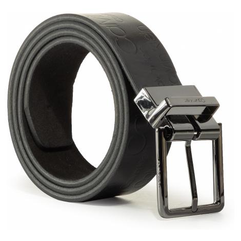 Pasek Męski CALVIN KLEIN - 3.5 Cm Adj.Rev.Logo Belt K50K504675 001
