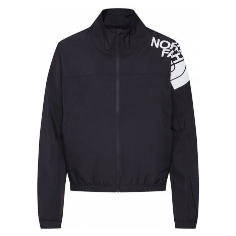 THE NORTH FACE Kurtka przejściowa 'Women's Train N Logo Wind Jacket - Eu' czarny / biały