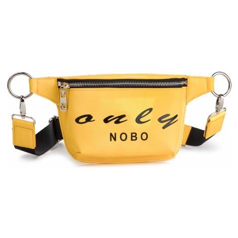 Saszetka nerka NOBO - NBAG-G0890-C002 Żółty