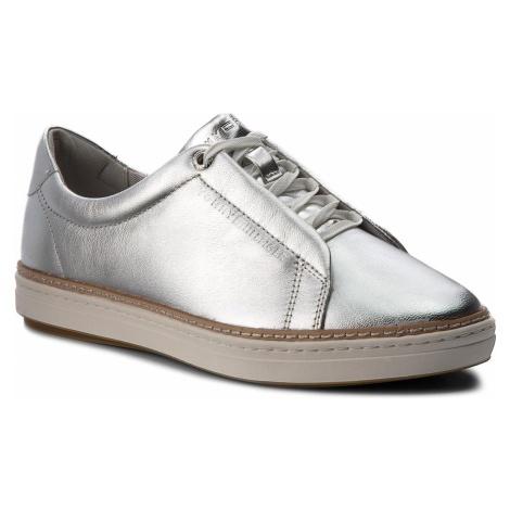Sneakersy TOMMY HILFIGER - Metallic City Sneaker FW0FW03359 Silver 000