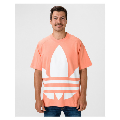 adidas Originals Big Trefoil Boxy Koszulka Pomarańczowy