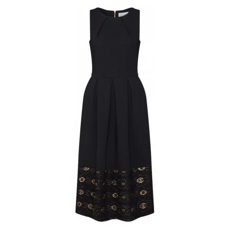 Closet London Sukienka 'Closet Lace Hem Dress' czarny
