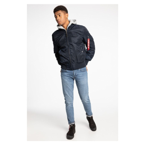 Kurtka Alpha Industries Ma-1 D-Tec 110 Navy / Grey