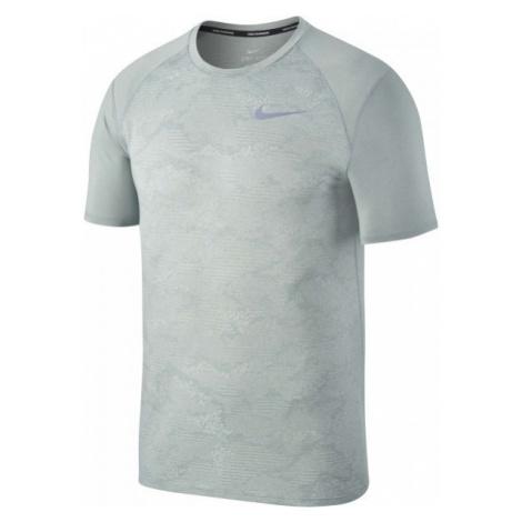 Nike BRTHE MILER TOP szary L - Koszulka do biegania męska