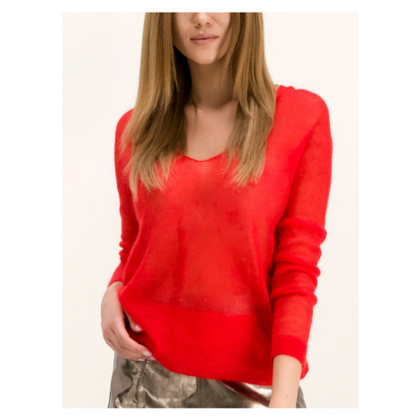 MAX&Co. Sweter Contenso 73649519 Czerwony Regular Fit