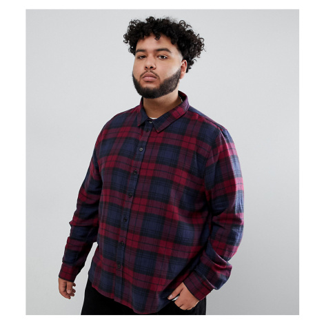 Another Influence PLUS Berry Check Shirt