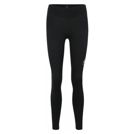 ODLO Spodnie sportowe 'SMOOTH SOFT' czarny / biały