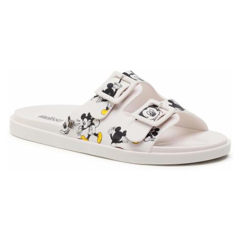 Klapki MELISSA - Wide + Mickey & Friend 32999 White/Yellow/Black 53871