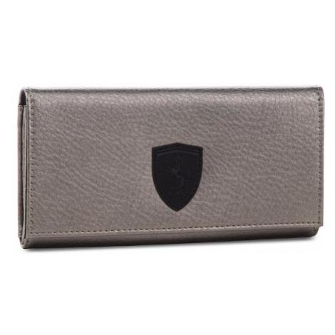Puma Duży Portfel Damski Sf Ls Wallet F 053477 01 Srebrny