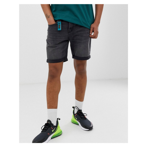 Pull&Bear slim fit shorts in grey Pull & Bear