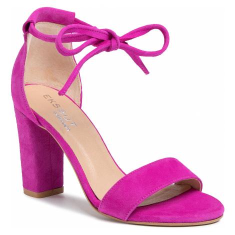 Sandały EKSBUT - 3B-5917-N63-1G Fuxia