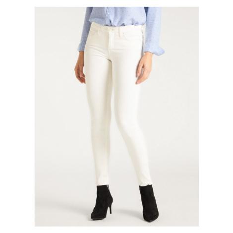 Lee Jeansy Skinny Fit Scarlett L506MY27 Biały Skinny Fit