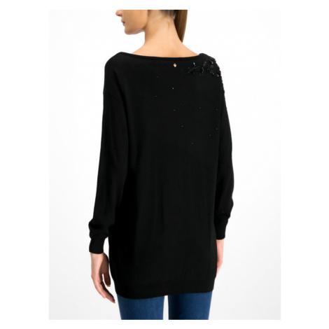 TwinSet Sweter 192TP332B Czarny Oversize