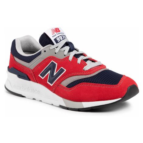 Sneakersy NEW BALANCE - CM997HBJ Czerwony
