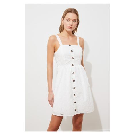 Sukienka damska Trendyol Button