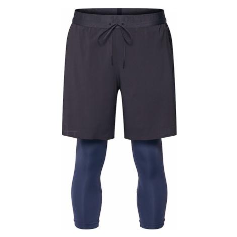 NIKE Spodnie sportowe 'M NK 2IN1 SHORT TCH PCK' niebieski / antracytowy