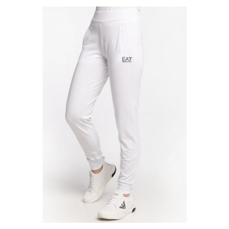 Spodnie Ea7 Emporio Armani Dresowe Pantaloni 8Ntp89Tj31Z-0102 White