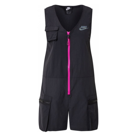 Nike Sportswear Kombinezon 'W NSW ICN CLSH ROMPER' czarny