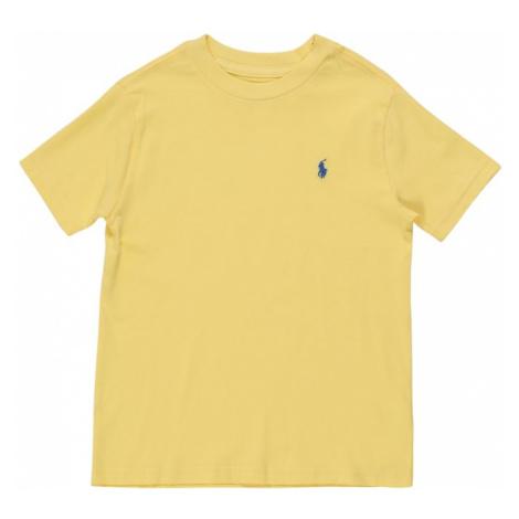 POLO RALPH LAUREN Koszulka 'SS CN-TOPS' żółty