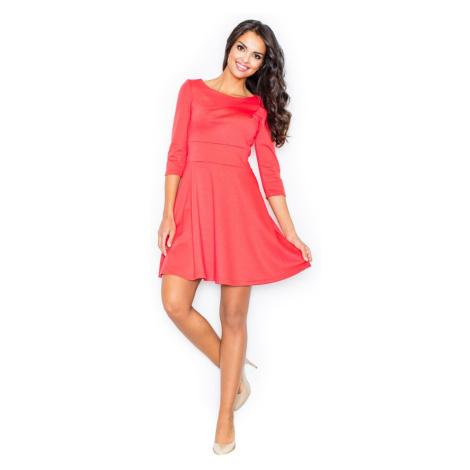 Figl Woman's Dress M081 Coral