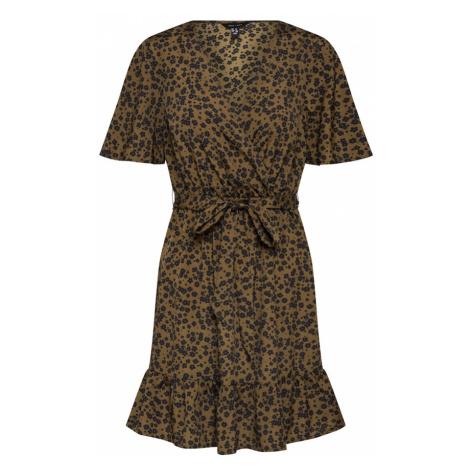 NEW LOOK Sukienka ciemnozielony / czarny