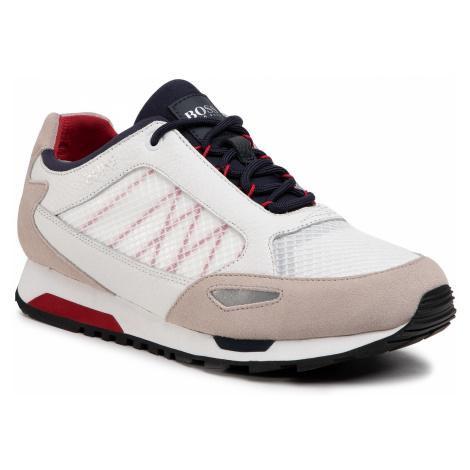 Sneakersy BOSS - Parkour 50445695 10214599 01 White 100 Hugo Boss