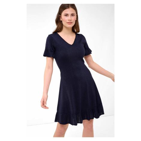 Rozkloszowana sukienka z dzianiny Orsay