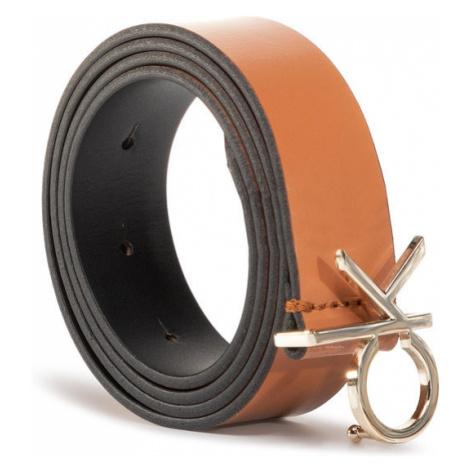 Calvin Klein Pasek Damski Ck Low Fix Belt 3.0 K60K606716 Brązowy